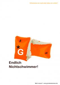 endlchnichtschwimmer_plakat